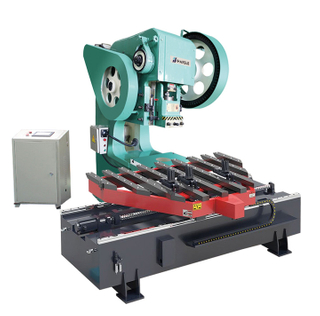 Mechanical Deep Throat Punching Machine with CNC Feeding Table
