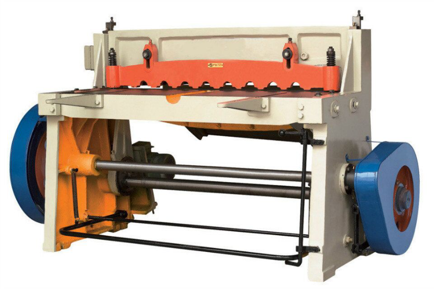shearing machine function