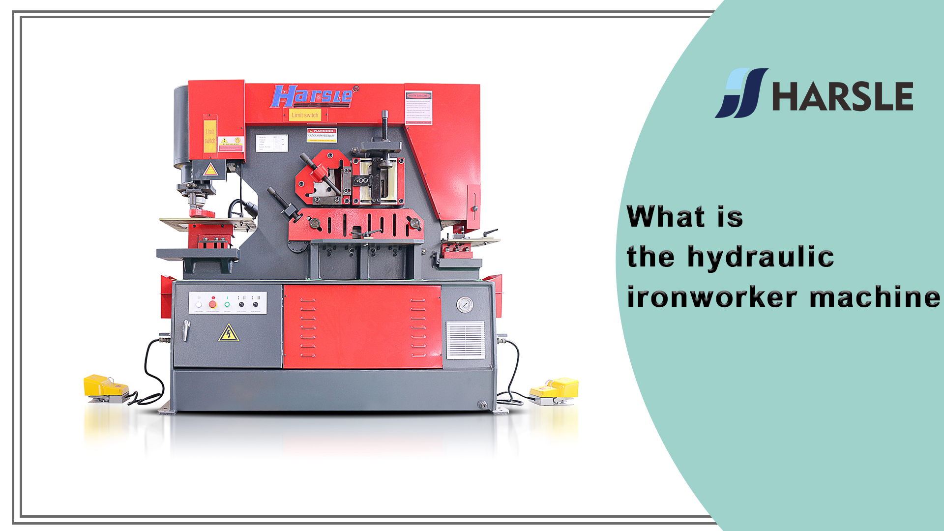 What is the hydraulic ironworker machine