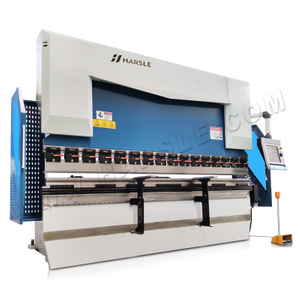 WE67K-100T/3200 genius CNC bending machine with DA-66T, 6+1 axis press brake