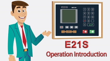 E21S Operation Introduction and manual for NC Shearing machine, how to use E21S controller