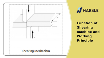 Function Of Shearing machine and Working Principle