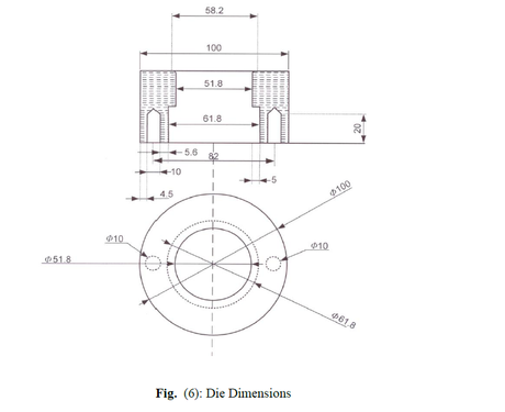 Design And Fabrication Of A Deep Drawing Machine Experimental Study