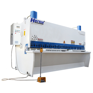 CNC Hydraulic Guillotine Shearing Machine, Metal Sheet Cutting Machine with ELGO P40
