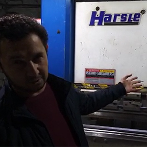 Hydraulic Press Brake 50T/2200 for Uzbekistan customer, HARSLE's feedback
