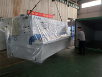 Hungary-QC12K-10X3200 Shearing machine